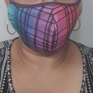 Face Mask.. Rainbow.. Custom Made to Order